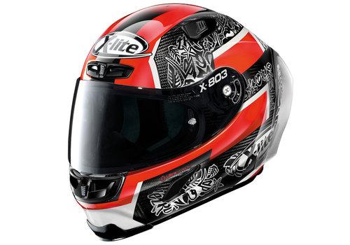 X-LITE X-803 RS Ultra Carbon Petrucci Replica Helmet