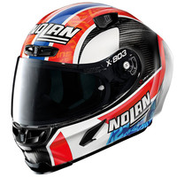 Buy X-Lite X-803 RS Ultra Carbon Rins Replica Helmet? Free Additional Dark Smoke Visor!