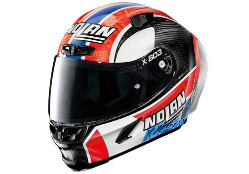 X-LITE X-803 RS Ultra Carbon Rins Replica Helmet