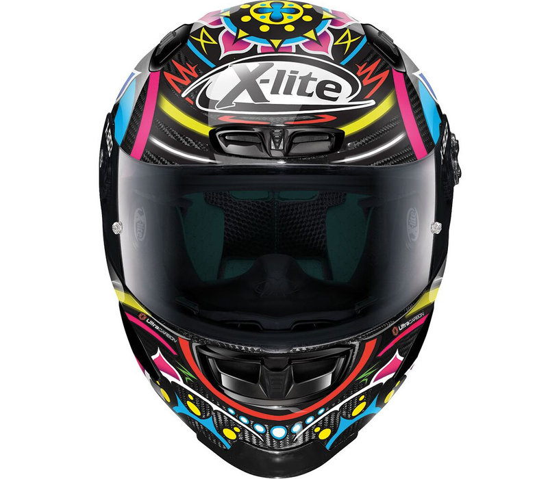 Buy X-Lite X-803 RS Ultra Carbon Davies Replica Helmet? + 50% discount on an Extra Visor!