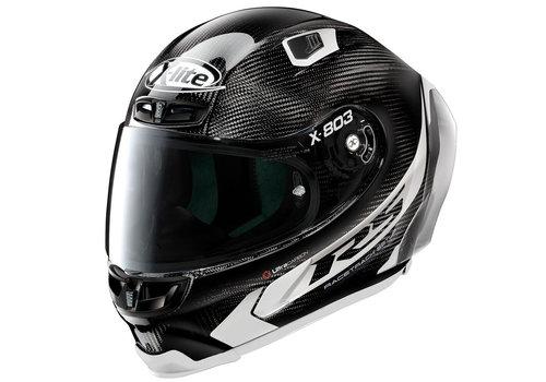 X-LITE X-803 RS Ultra Carbon Hot Lap White Helmet