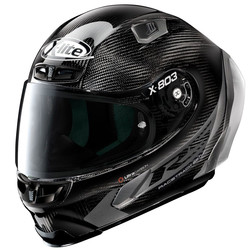 X-LITE Buy X-Lite X-803 RS Ultra Carbon Hot Lap Black Helmet? + Free Additional Dark Smoke Visor!
