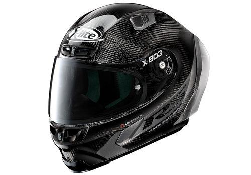 X-LITE X-803 RS Ultra Carbon Hot Lap Zwart Helm