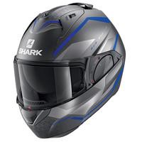 Shark Motorradhelm EVO ES YARI Mat ABS S Grau//Blau