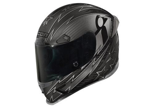 ICON Airframe Pro Warbird Black Helmet