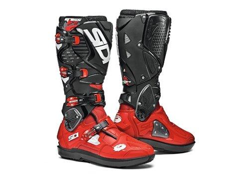 Sidi Crossfire 3  SRS Stiefel Schwarz Rot