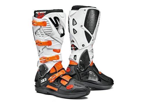 Sidi Crossfire 3 SRS  Boots Fluo White Orange
