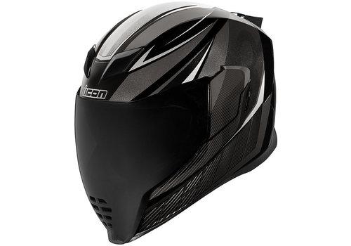 ICON Airflite QB1 Black Helm