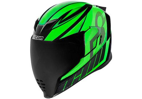 ICON Airflite QB1 Green Helm