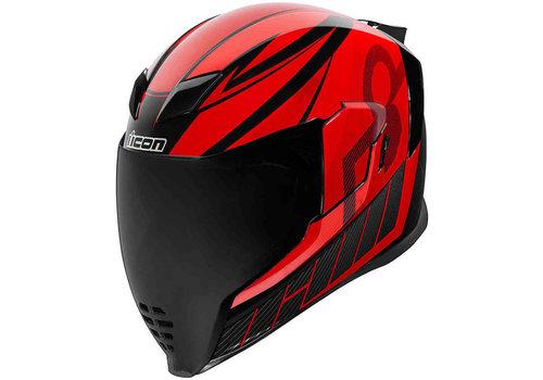 ICON Airflite QB1 Red Helmet