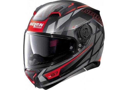 Nolan N87 ORIGINALITY N-COM Flat Black 069 Helmet