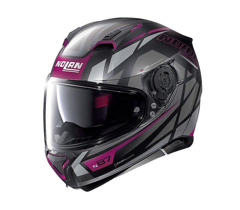 Nolan N87 MOTO GP N-COM FLAT BLACK M