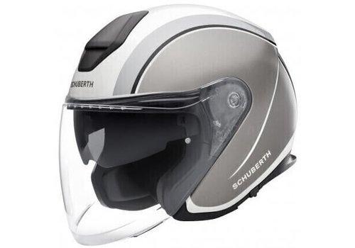 Schuberth M1 Pro Helmet Outline Grey