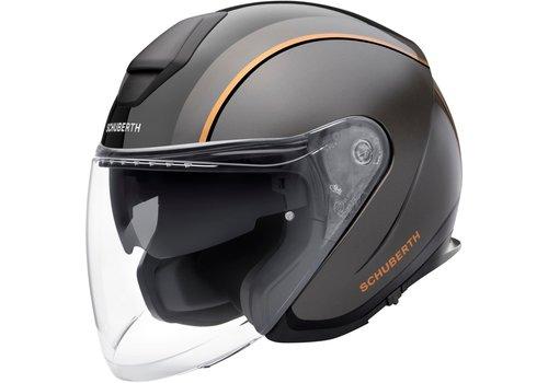 Schuberth M1 Pro Helmet Outline Black