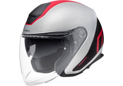 Schuberth M1 Pro Helmet Outline Triple Red