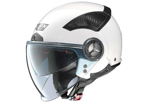 Nolan N33 Evo Classic Metal White Helmet