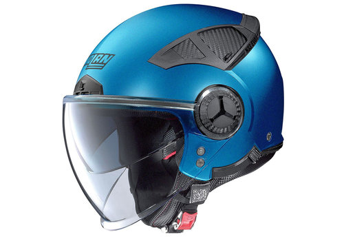 Nolan N33 Evo Classic Flat Saphire Blue Helmet