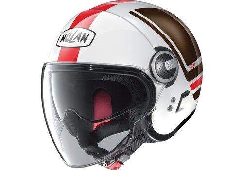 Nolan N21 Visor Flybridge Metal White 064 Helmet
