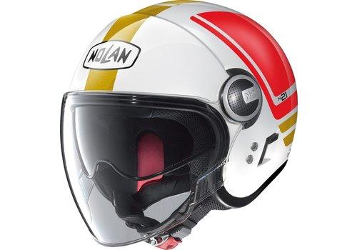 Nolan N21 Visor Flybridge Metal White 067 Helmet