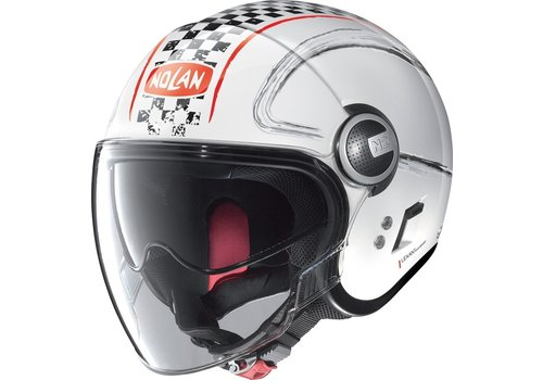 Nolan N21 Visor Getaway Metal White 060 Helm