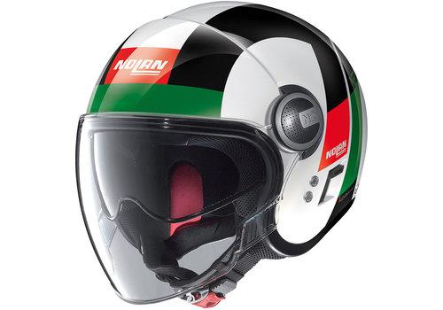 Nolan N21 Visor Spheroid Metal White 045 Helm