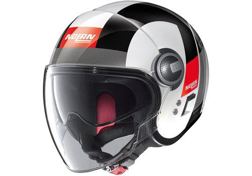 Nolan N21 Visor Spheroid Metal White 046 Helmet