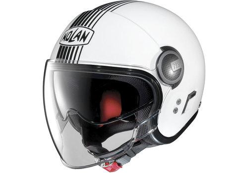 Nolan N21 Visor Joie De Vivre Metal White 041 Helmet