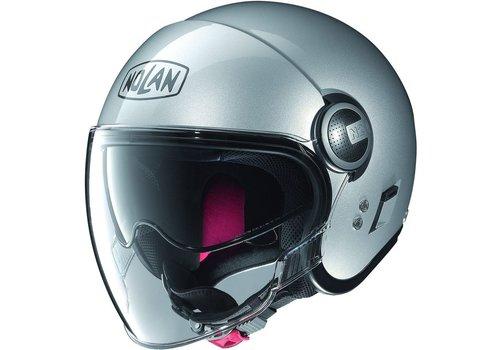 Nolan N21 Visor Classic Platinum Silver Helmet