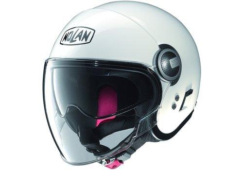 Nolan N21 Visor Classic Metal White Helm