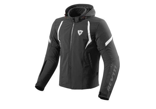 Revit Burn Jacket Black White