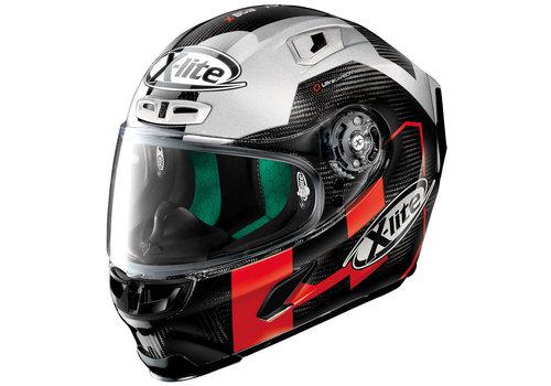 X-LITE X-803 Ultra Carbon Petrucci Test 051 Helm
