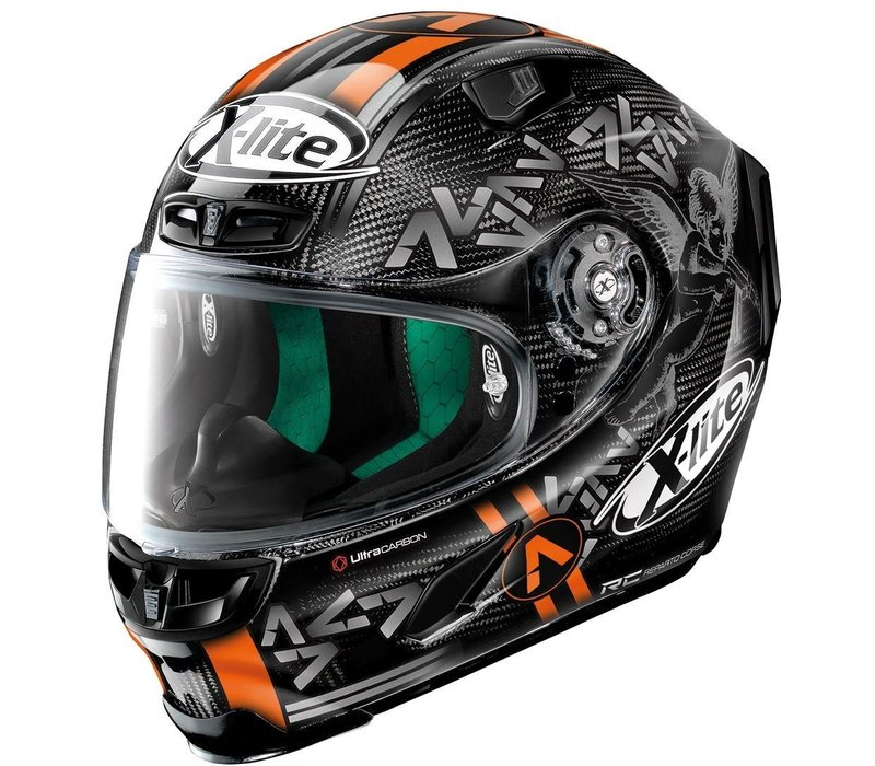X-Lite X-803 Ultra Carbon Replica Canet 052 Helm kopen? + 50% korting op een Extra Vizier!