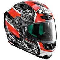 Buy X-Lite X-803 Ultra Carbon Replica Petrucci 053 Helmet? + 50% discount Extra Visor!