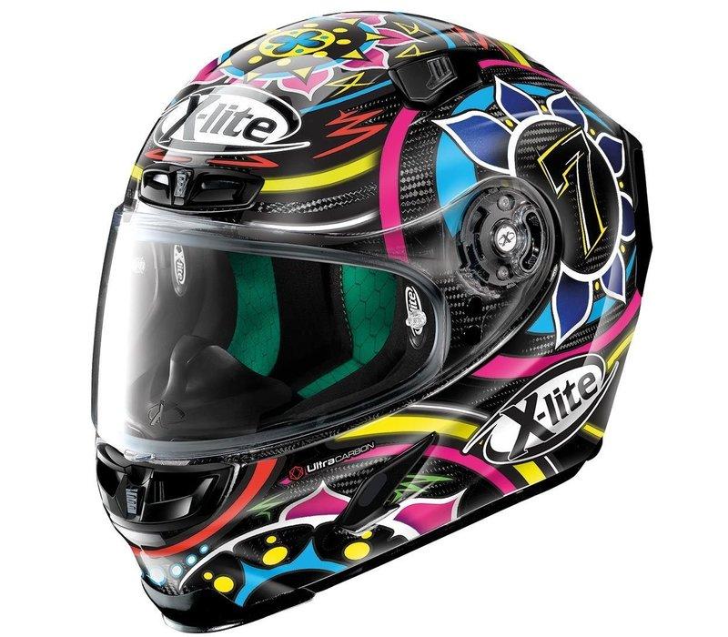 Buy X-Lite X-803 Ultra Carbon Replica Davies 054 Helmet? + 50% discount Extra Visor!