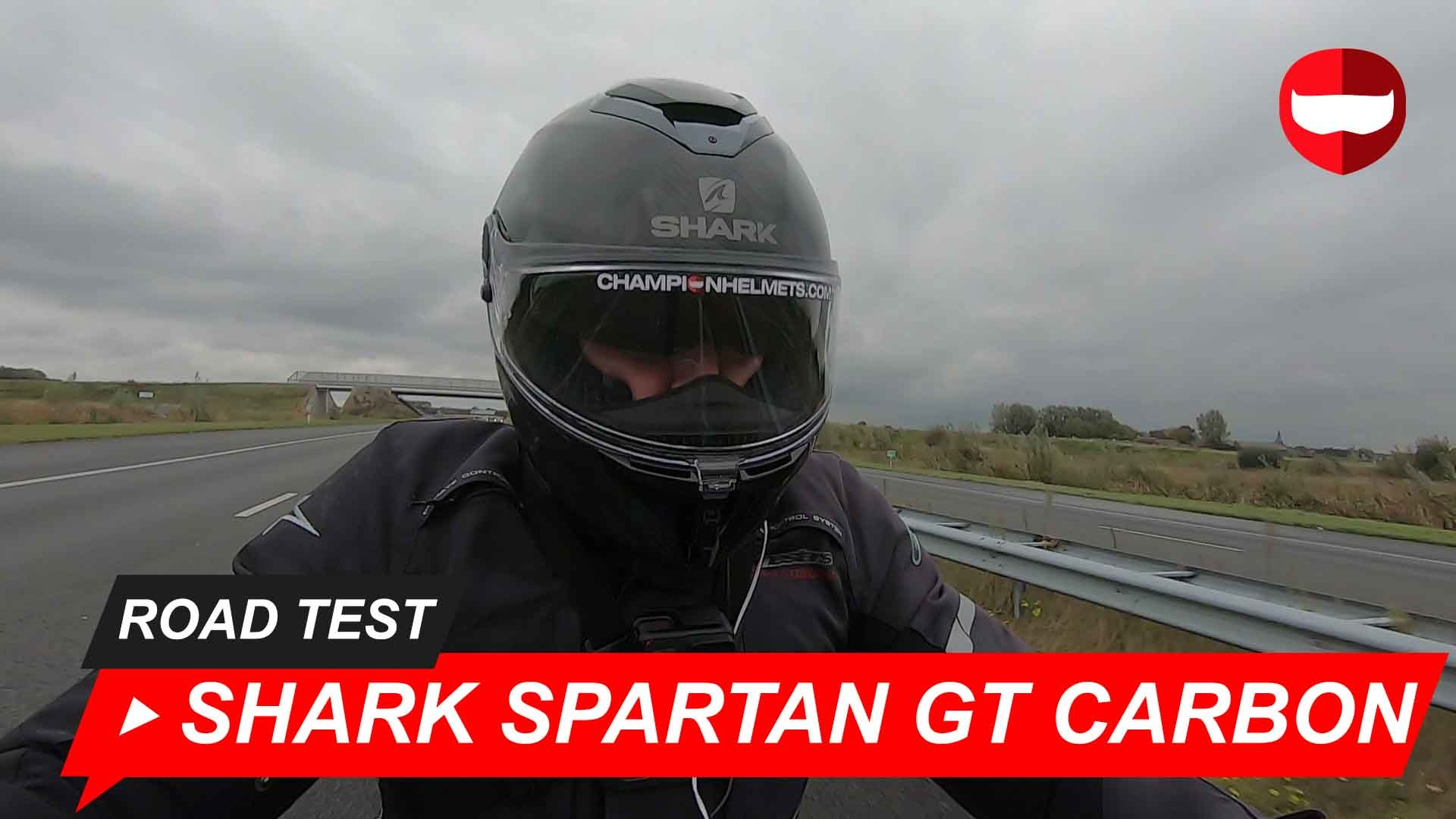 Shark Spartan GT Carbon Review and Road Test with Video