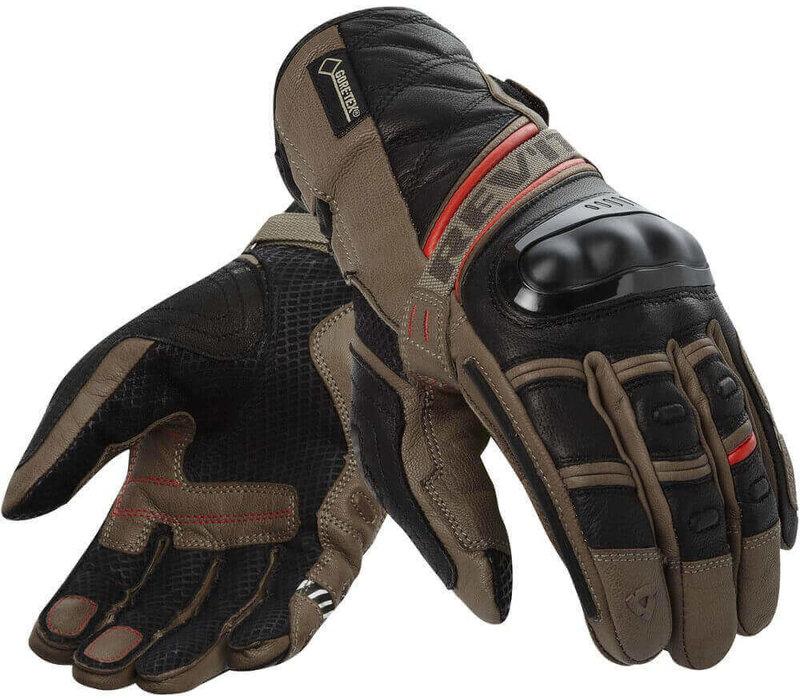 Revit Dominator GTX Handschoenen Sand Rood kopen? Gratis Verzending & Retour!