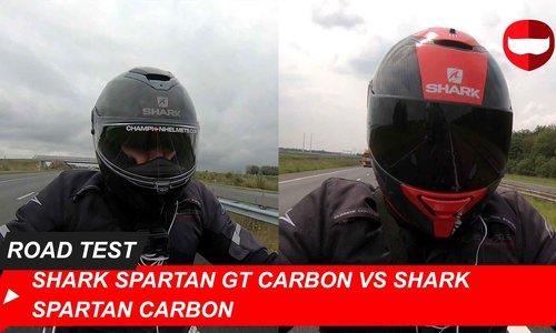 Shark Spartan GT Carbon vs Shark Spartan Carbon