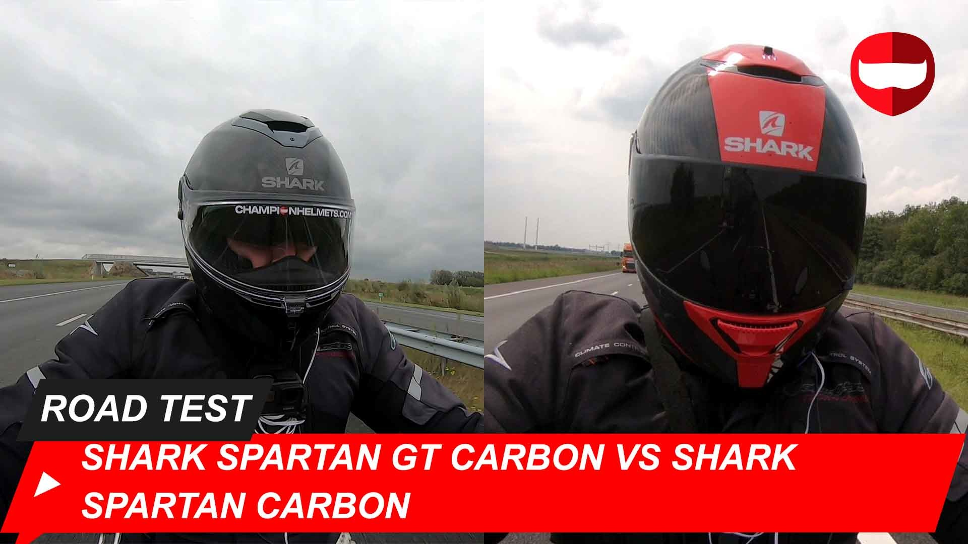 Shark Spartan GT Carbon vs Shark Spartan Carbon