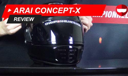 Arai Concept-X Review