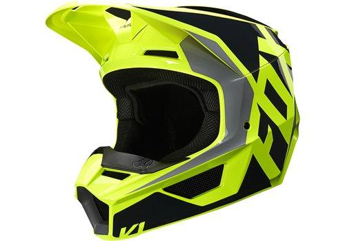 Fox V1 SE LOVL Black Yellow Helmet