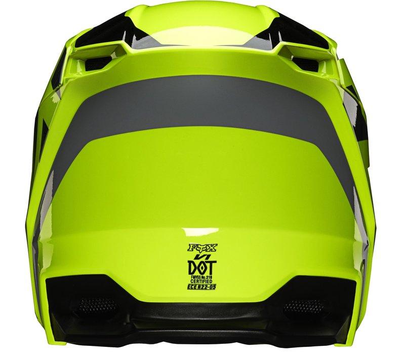 Fox V1 Cross helmet  SE LOVL Black Yellow