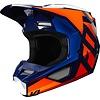 Fox Fox V1 Crosshelm SE LOVL Oranje Blauw