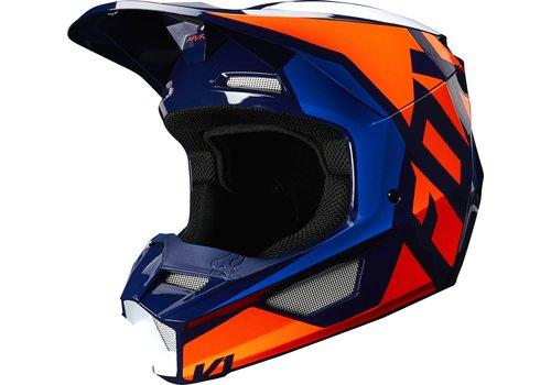 Fox V1 SE LOVL Orange Blue Helmet