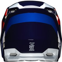 Fox V1 Crosshelm SE LOVL Oranje Blauw