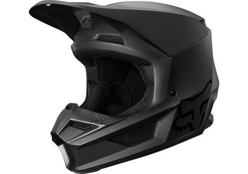 Fox V1 Matte Matt Black Helmet