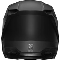 Fox V1 Cross helmet Matte Matt Black