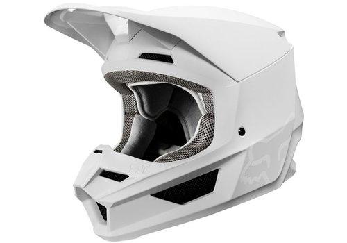 Fox V1 Matte White Helmet