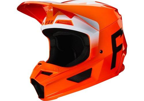 Fox V1 Werd Fluo Orange Helmet
