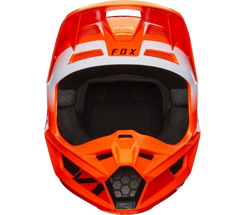 Fox V1 Cross helmet Werd Fluo Orange