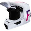 Fox Fox V1 Cross helmet  Werd White